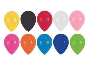 Club Pack of 180 Multi-Colored Latex Party Balloons