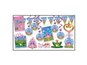 "Pack of 78 ""Happily Ever After"" Pretty Pink Princess Decoration Kit 12'"