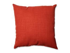 """18"""" Poppy Red Pure Shock Decorative Throw Pillow"""