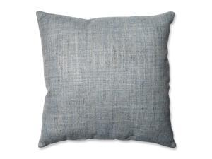 "18"" Slate Blue Handcraft Nile Decorative Throw Pillow"