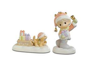 "Precious Moments ""Sleigh Bells Ring"" Figurine"
