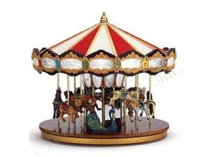 Mr. Christmas Animated Musical Grand Jubilee Carousel Decoration #19751