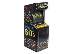 Club Pack of 12 Multi-Colored Totally 80's Arcade Video Game Centerpiece Party Decorations 10""