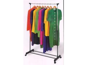 Rolling adjustable Garment rack