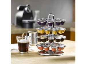 Chrome Nespresso Coffee Carasoul by Nifty