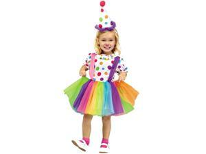 Big Top Fun Toddler Costume Size:3T-4T