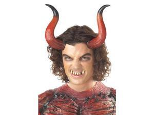 Hellion Horns with Teeth Accessory Size:Standard