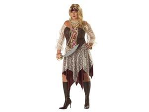 South Seas Siren Pirate Plus Costume