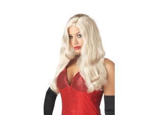 Silver Screen Sinsation Costume Wig - Blonde