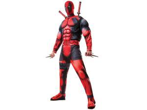 Adult Deluxe Deadpool Muscle Chest Costume