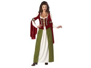 Renaissance Maid Marian Costume