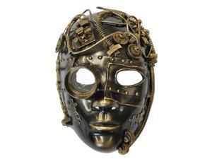 Steampunk Inventor Mask (Gold)