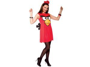 Angry Birds Sassy Red Bird Adult Costume (S)