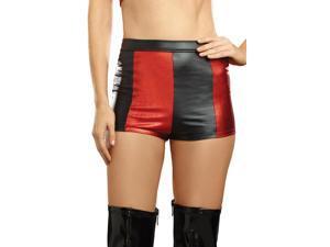Harlequin Hi-Waist Shorts