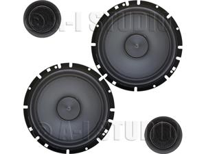 """Alpine SPS-610C 6-½"""" 2-Way Component Speakers"""