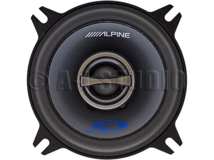"Alpine SPS-410 4"" 2-Way Car Speakers"