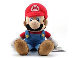 "Super Mario Plush Mario Soft Stuffed Plush Toy by Sanei - 8"""