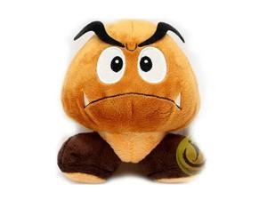 Super Mario Plush Goomba Soft Stuffed Plush Toy by Sanei - 5""