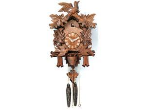"13"" Cuckoo Clock with Moving Birds Feed Nest"