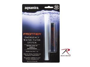 Rothco 9419 Aquamira Frontier Emergency Water Filtration System
