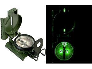 G.I. O.D. Military Tritium Lensatic Compass