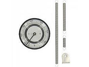 Bimetal Thermom, 2 In Dial, 70 to 370F