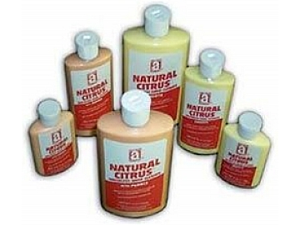 Anti-Seize 49008 NATURAL CITRUS Smooth, Waterless Hand Cleaner, 8 oz. squeeze bottle