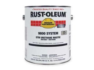 RustOleum 9844419 Safety Yellow Urethane Mastic,Size:1 Gal.