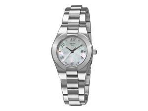 Tissot T-Trend Glam Sport Ladies Diamond Mother of Pearl Face Watch T043.210.11.117.02