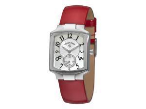 Philip Stein Signature Classic Tank Ladies Red Strap Watch 21-FMOP-LR