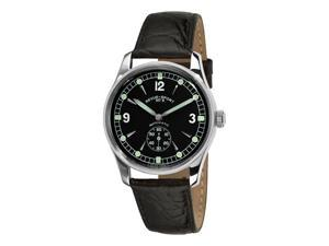 Revue Thommen Sport 50's Mens Black leather Strap Automatic Watch 15001.2537