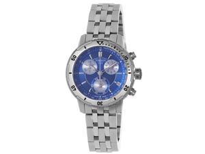 Tissot Mens PRS-200 Blue Chronograph Dial Quartz Watch