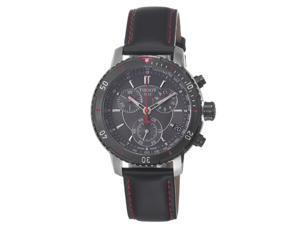 Tissot PRS 200 Chronograph Black Dial Mens Watch T0674172605100