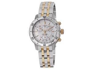 Tissot T-Sport PRS200 Chronograph Silver-tone Dial Mens Watch T0674172203100