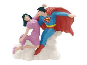 DC Comics Superman and Lois Lane Magnetic Salt and Pepper Shaker Set