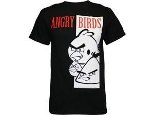 Angry Birds Bird Face Scarface Spoof Men's T-Shirt