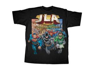 Justice League of America Coming At You Men's T-Shirt