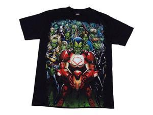 Marvel Comics Secret Invasion Skrull Nation Mens T-Shirt