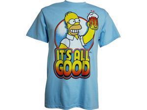 Simpsons Homer It's All Good Men's T-Shirt