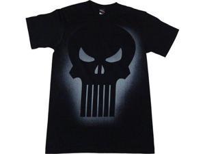 Punisher Lighted Skull Logo Men's T-Shirt