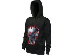 Punisher Ignited Logo Men's Zip Hoodie