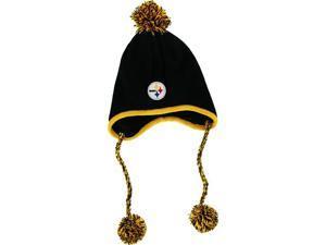 Pittsburgh Steelers Tassle Twist Peruvian Knit Cap