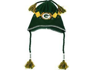 Green Bay Packers Tassle-Gyle Knit Cap
