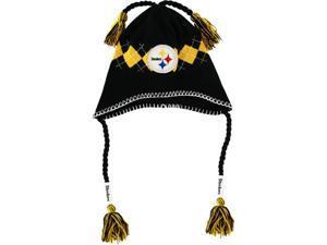 Pittsburgh Steelers Tassle-Gyle Knit Cap