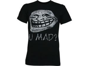 U Mad? Distressed Men's T-Shirt