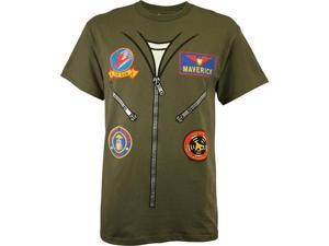 Top Gun Flight Suit Men's Costume T-Shirt
