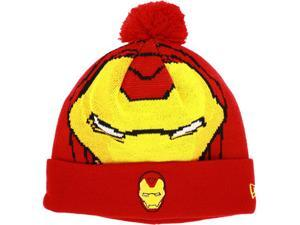 Iron Man Big Face Woven Biggie Knit Cap