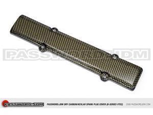 Password:JDM Dry Carbon Kevlar Spark Plug Cover (B-Series)