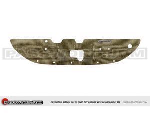 Password:JDM Dry Carbon Kevlar Cooling Plate (EK 96-00 Civic)