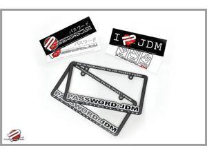 Password:JDM License Plate Frames & Bumper Stickers